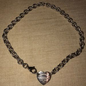 Return to Tiffany heart choker